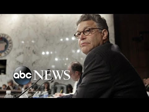 Growing list of senators call on Al Franken to resign in wake of sexual misconduct scandal