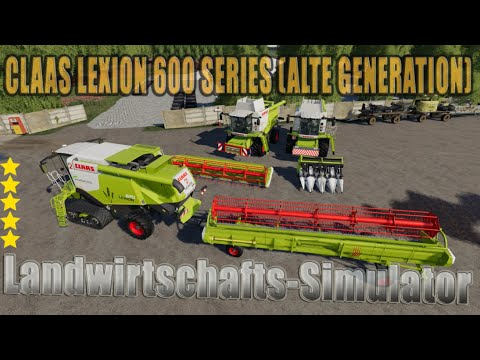 Claas Lexion 600 Series (Old Generation) v2.0