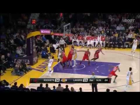 Jason Terry blows past Jeremy Lin for the layup