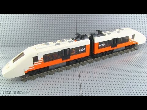 LEGO custom train MOC – PM A12 high-speed passenger EMU