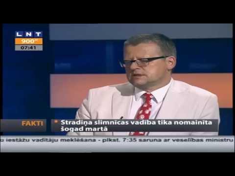"""Veselības ministra intervija LNT """"900 sekundes"""""""