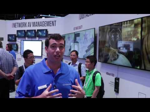 Crestron DM® NVX Series at InfoComm 2017