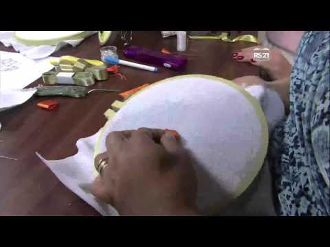 Mulher.com 19/02/2013 Valéria Soares - Orquídea bordado em fitas  parte 1