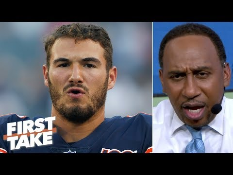 Video: Mitchell Trubisky has 'got to show up and show out' for the Bears - Stephen A. | First Take