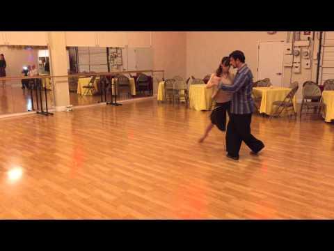 Tango class – Gustavo & Jesica – April 1 2015