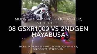 6. 1340 Hayabusa VS 2008 GSXR 1000 racing HD