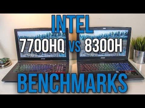 Intel i7-7700HQ vs i5-8300H - Laptop CPU Comparison and Benchmarks