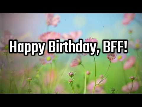Birthday Wishes For Best Friend Forever – Male and Female - Best Friend Birthday Wishes & Messages,