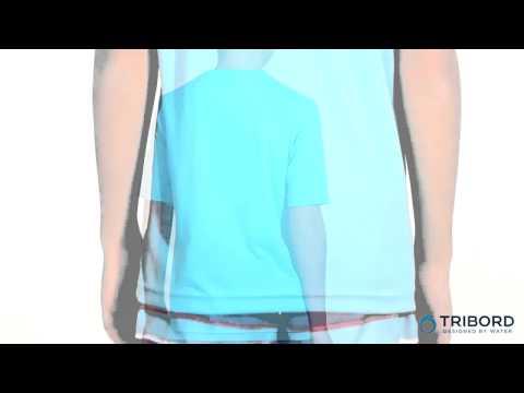 WATER TSHIRT UV Jr PB Bleu