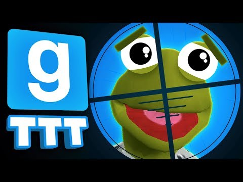 Garrys Mod - THIS TRAITOR TRAP IS BRUTAL!  Gmod TTT