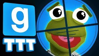 THIS TRAITOR TRAP IS BRUTAL! | Gmod TTT