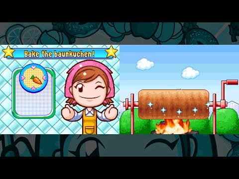 [Cooking Mama 3] Baumkuchen