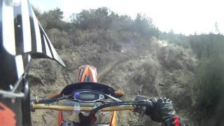 8. Ride on my new  2007 KTM 450 XC DUAL SPORT GOPRO HD 5