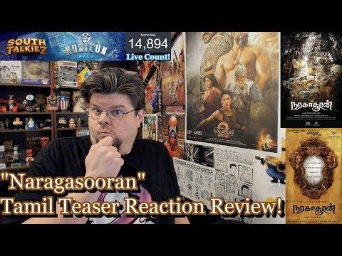 Naragasooran - Tamil Teaser Reaction Review! Arvind Swami, Shriya Saran, Sundeep Kishan | Indrajith