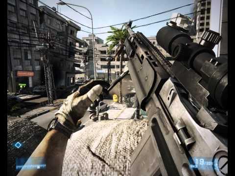 Battlefield 3 - серия 3 (ПУЛЕМЕТ *****)