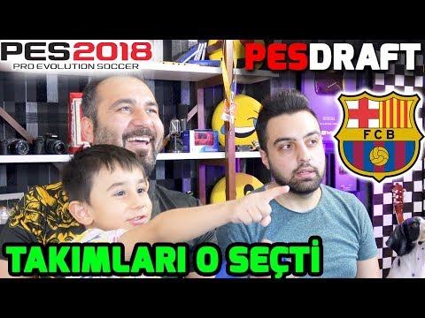 EGEMEN KAAN TAKIMLARIMIZI SEÇTİ! | PES 2018 PESDRAFT