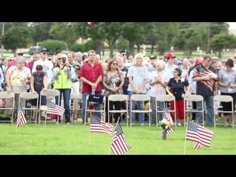 Memorial Day Ceremony Held at Bluebonnet Colleyville, Texas