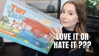 Brutally Honest TINY TALES Cage Review! | Tiny Tales Playground Cage by Emma Lynne Sampson