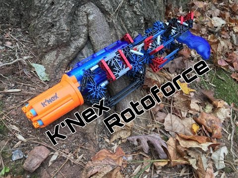 Honest Review: Knex Rotoforce Buildable Blaster
