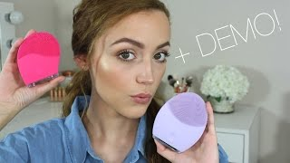 Foreo Luna 2 Sensitive Skin VS. Solo Mio | Review & Comparison by Kathleen Lights