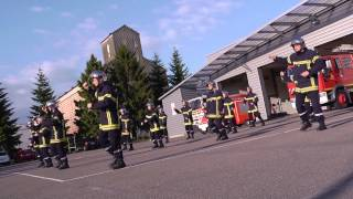 Nuits-Saint-Georges France  city photos gallery : Flash mob | Pompiers de Nuits-Saint-Georges