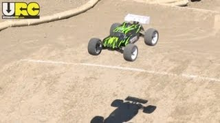 Iron Track E8XTL Ziege 1/8th BL Truggy First Drive @ The Track, No Music