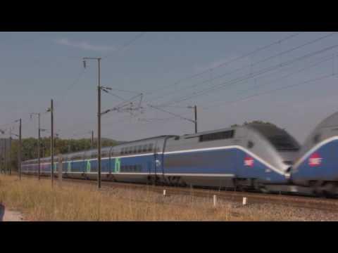 320 км. в час: французский поезд TGV Duplex - Центр транспортных стратегий