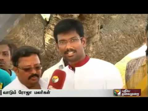 Live-report-Roses-wilted-due-to-power-cuts-hot-summer-in-Krishnagiri