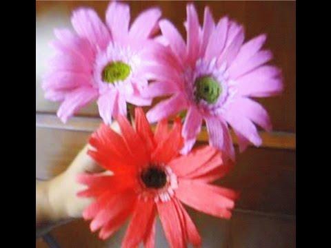 Paper Flower – Gerbera