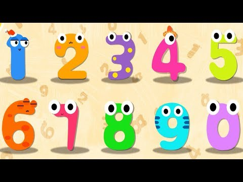 Magic Numbers 1 to 10  - 123 Learning Apps for kids - BabyBus Kids Cartoon Learning Video