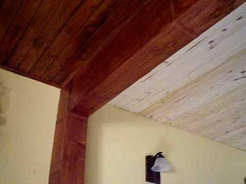 Forrar techo madera videos videos relacionados con - Forrar paredes de madera ...