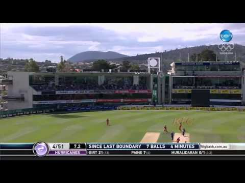 Melbourne Renegades vs Hobart Hurricanes, BBL, 2013/14 - Short Highlights