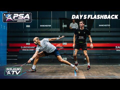 Squash: Manchester Open 2020 Flashback - Day 5