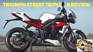 1. 2013 Triumph Street Triple R ABS review