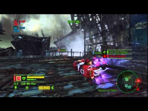 Anarchy Reigns/Max Anarchy Online Team Deathmatch Gargoyle Gameplay HD