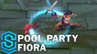 Chi tiết hình ảnh bộ trang phục mới Fiora Tiệc Bể Bơi (Pool Party Fiora)