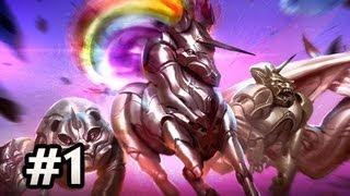 Robot Unicorn Attack Evolution w/Nova Ep.1 - EVOLVING CREATURES WUT?!?
