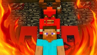 ALEX AND SATAN MINECRAFT - STEVE JOINS SATAN!•