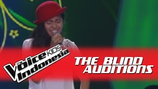 "Video Shyakira ""Cindai"" I The Blind Auditions I The Voice Kids Indonesia GlobalTV 2016 MP3, 3GP, MP4, WEBM, AVI, FLV Oktober 2017"
