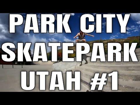 THE BEST SKATEPARK IN UTAH!!  PARK CITY SKATEPARK