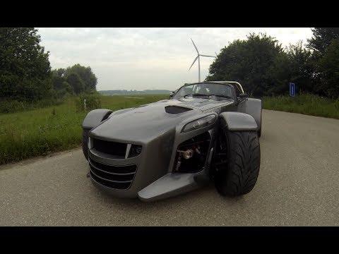 0-200 km/h : Donkervoort D8 GTO 380 PS (Motorsport)