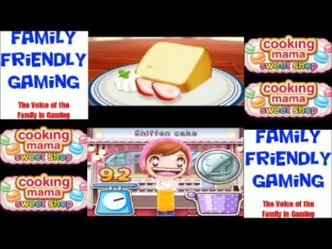 Cooking Mama Sweet Shop Episode 19