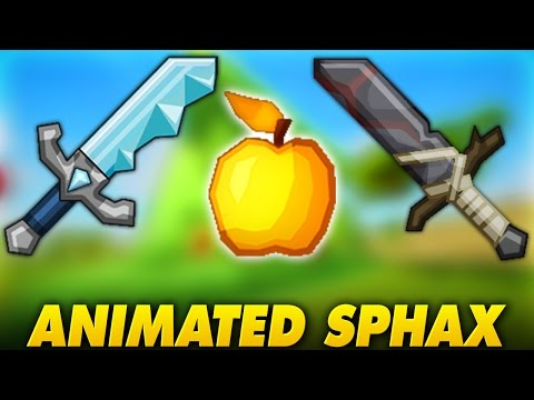 NEUES ANIMIERTES SPHAX TEXTURE PACK