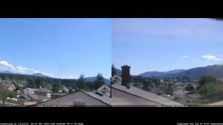 Port Alberni Jul 27, 2014 Daily HD Webcam Timelapse at Alberniweather