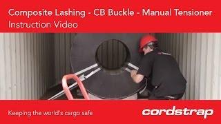 Cordstrap | 3 Composite Lashing + CB Buckle + Manual Tensioner