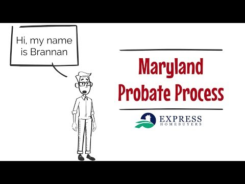 Maryland Probate Process