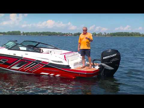 Boating Magazine 2017 Monterey M45 Boat Test