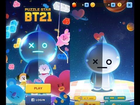 《拼圖之星 BT21》手機遊戲玩法與攻略教學! [PUZZLE STAR BT21]