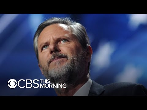 Liberty University President Jerry Falwell Jr. reportedly resigns and then walks it back