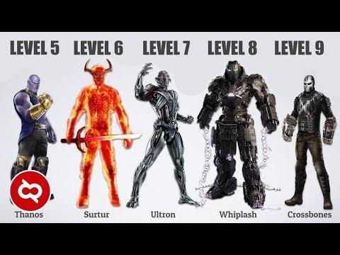 10 Musuh Superhero terkuat Di Jagat Marvel